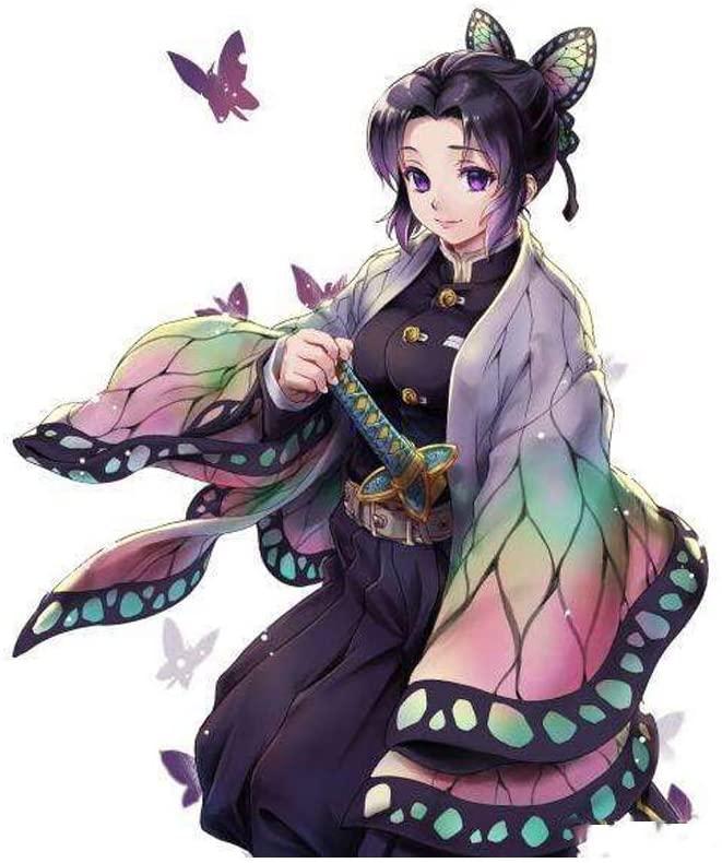 鬼滅の刃の胡蝶しのぶ(こちょう しのぶ)