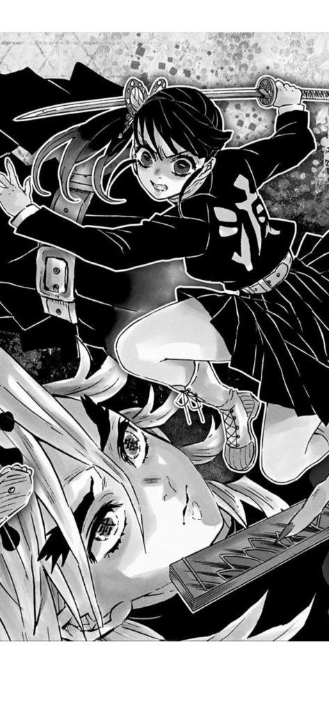 童磨(どうま)vs 栗花落 カナヲ(つゆり かなを)