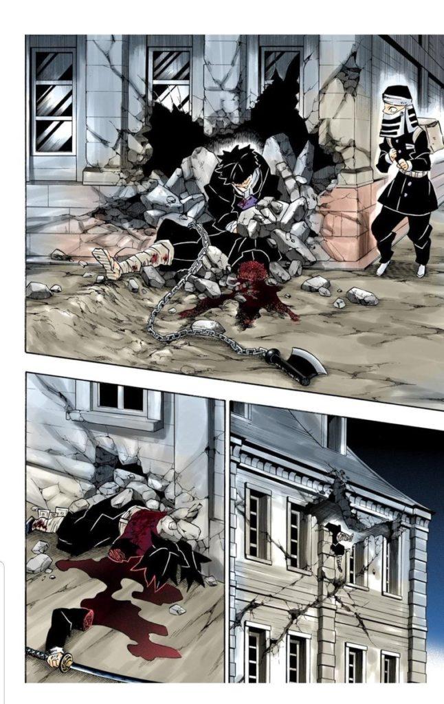 鬼滅の刃(きめつのやいば)191話ネタバレ|無惨の一瞬の攻撃炸裂!本気の無惨に打つ手なしか!?