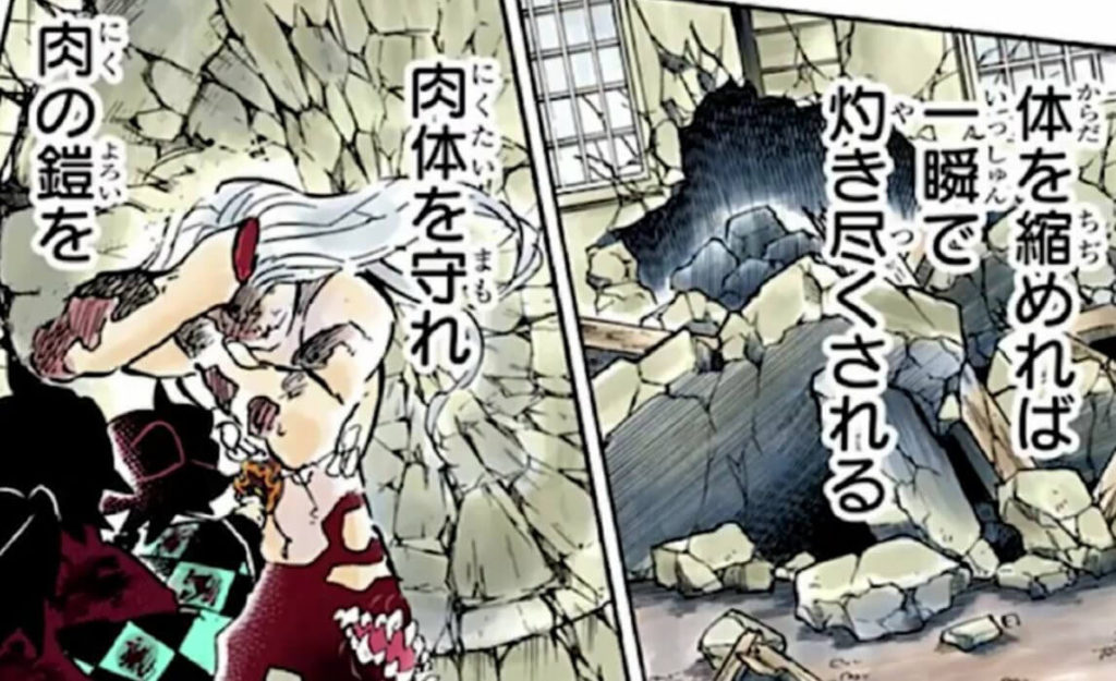 鬼滅の刃(きめつのやいば)199話ネタバレ 無惨が肉の塊に変化!大きな赤ちゃんのような姿に!