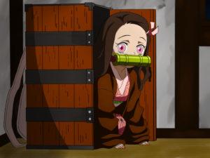 禰豆子が入る木箱 / 鱗滝さんが作った背負い箱