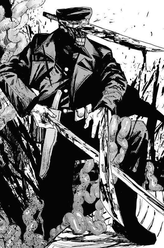チェーソーマン 刀の悪魔