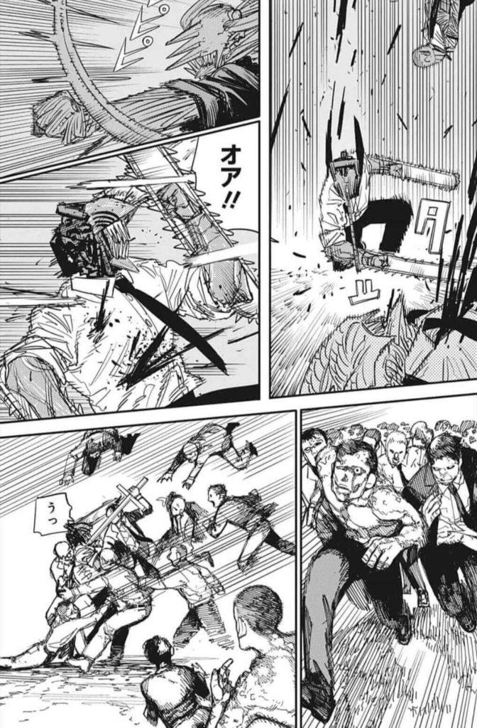 チェーンソーマン第94話、内容ネタバレ|チェーンソーマン対武器人間ズ