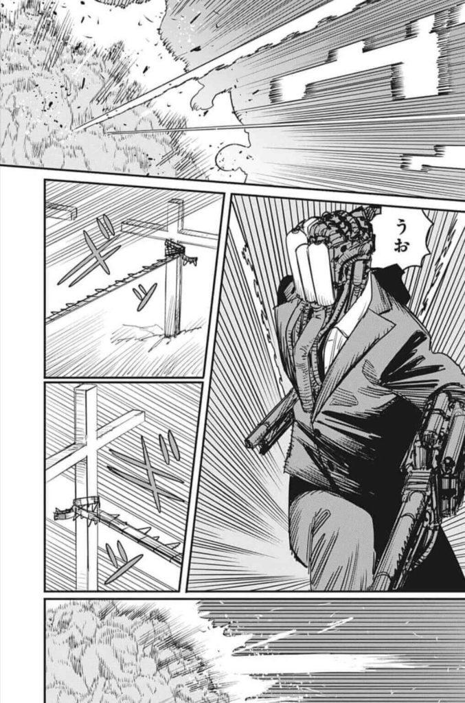 チェーンソーマン第94話、内容ネタバレ チェーンソーマン対武器人間ズ