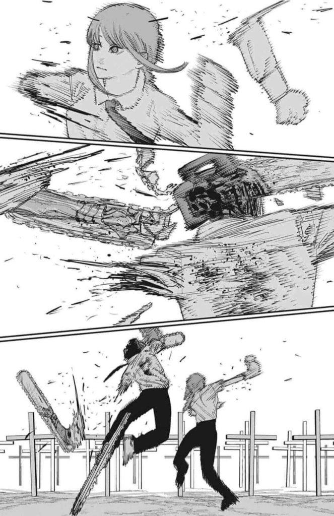 チェーンソーマン第95話、内容ネタバレ|チェーンソーマンVS支配の悪魔